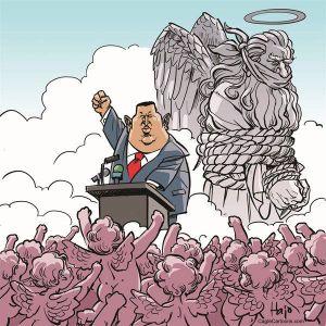 La muerte nos llega a todos y Chavez no era una excepción