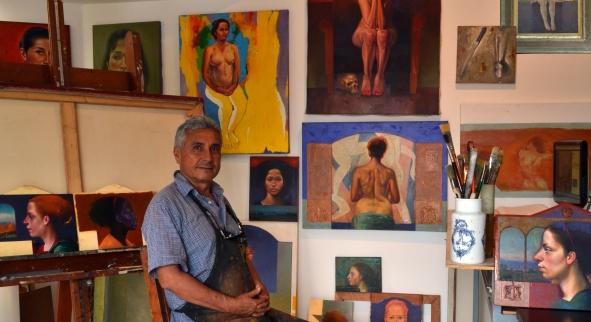 Jorge Alberto Montealegre artista colombiano