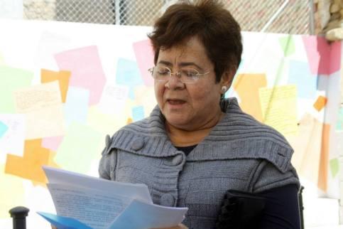 Rocío Espinosa Herrera poeta ganadora de diferentes premios en Colombia y España, ahora invitada especial a Rumanía.