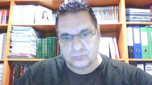 Angel Corbalán Escritor español afincado en Algeciras, presidente y creador de Mayores en la red, Mayores. Net Puntonet